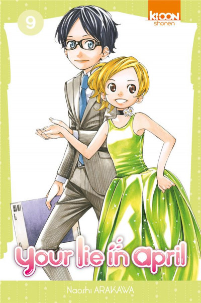 Couverture Your lie in april tome 9