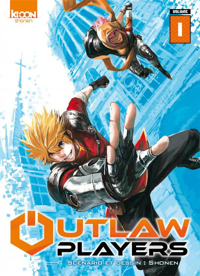 Couverture Outlaw players tome 1