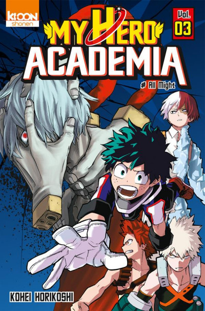 Couverture My hero academia tome 3