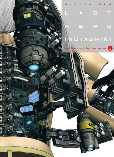 Couverture Last hero inuyashiki tome 5