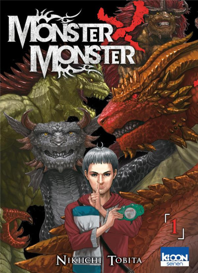 Couverture Monster X monster tome 1