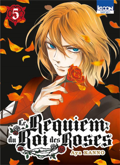 Couverture Le requiem du roi des roses tome 5