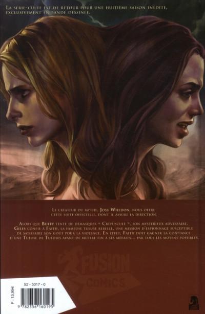 Dos Buffy contre les vampires - saison 8 tome 2