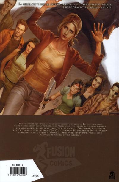 Dos Buffy contre les vampires - saison 8 tome 6