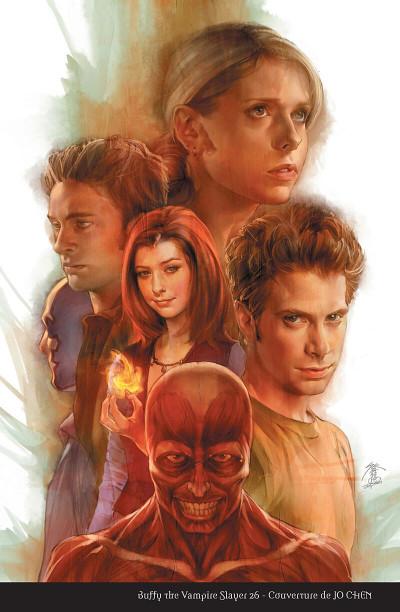 Page 4 Buffy contre les vampires - saison 8 tome 6