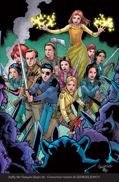 Page 5 Buffy contre les vampires - saison 8 tome 6