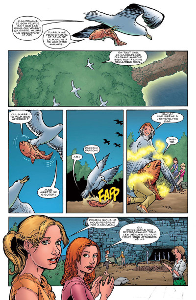 Page 7 Buffy contre les vampires - saison 8 tome 6