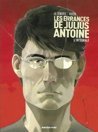 Couverture les errances de julius antoine - intégrale tome 1 à tome 3