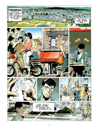 Page 1 les errances de julius antoine - intégrale tome 1 à tome 3