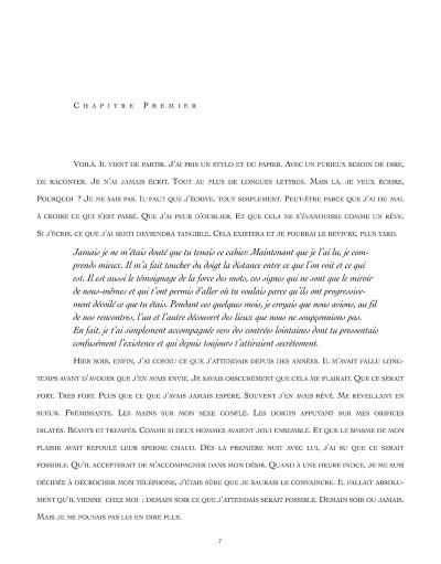 Page 1 la correction ; ou la confusion des sens