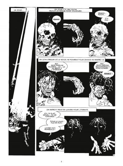 Page 2 je suis un vampire - intégrale tome 1
