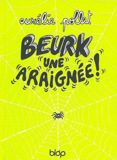 Couverture beurk ! une araignée