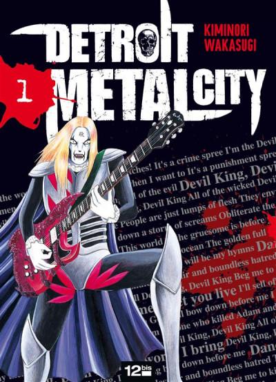 Couverture detroit metal city tome 1