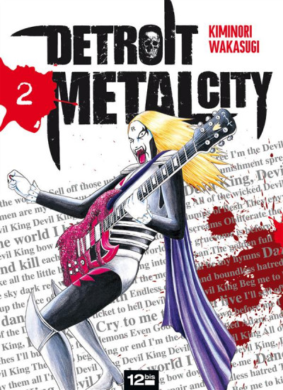 Couverture detroit metal city tome 2