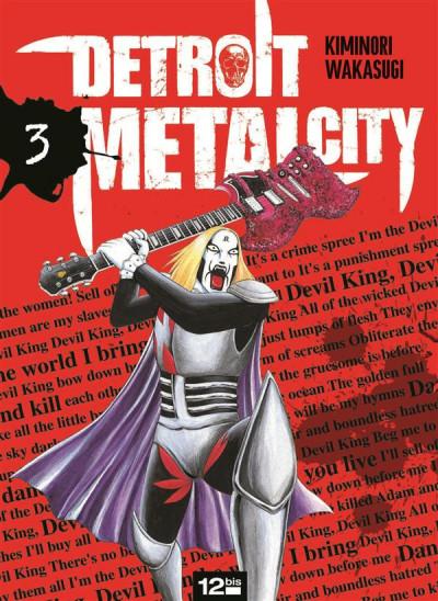 Couverture detroit metal city tome 3