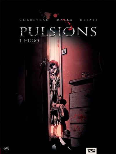 Couverture pulsions tome 1 - hugo