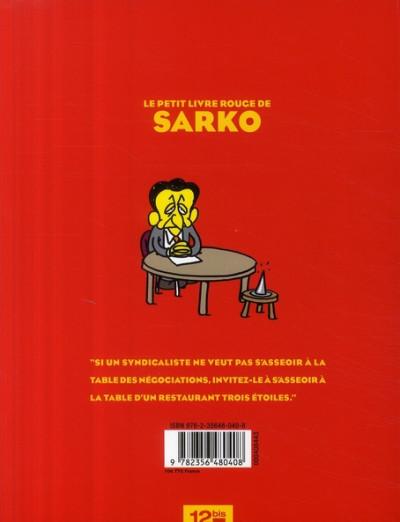 Dos le petit livre rouge de sarko