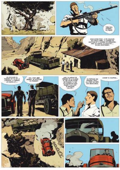 Page 3 l'or et le sang tome 1 - l'appel du large