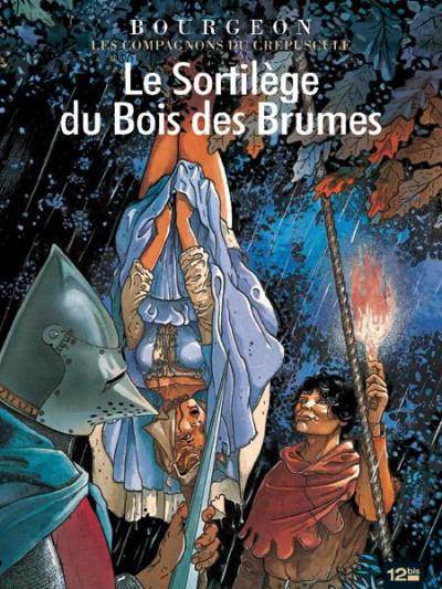 Couverture les compagnons du crépuscule tome 1 - le sortilège du bois des brumes