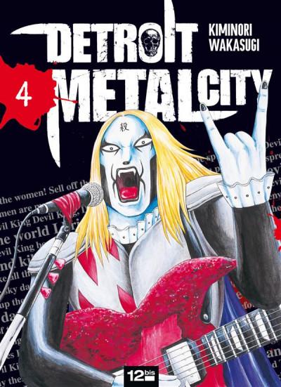 Couverture detroit metal city tome 4