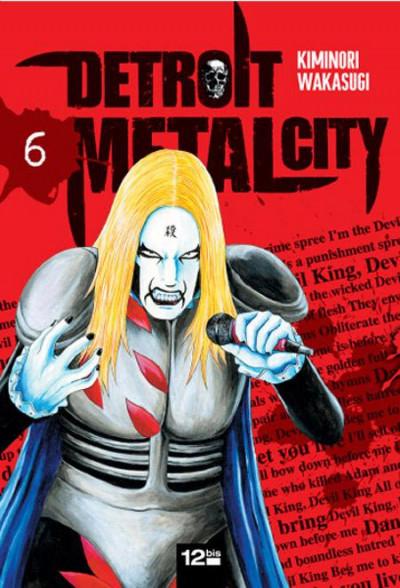 Couverture detroit metal city tome 6