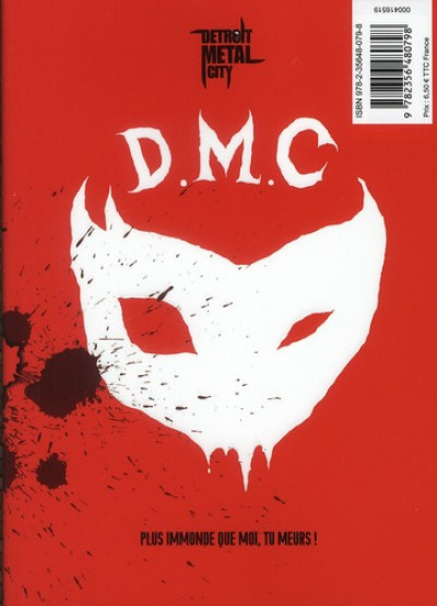 Dos detroit metal city tome 6