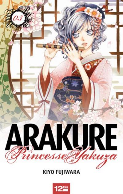 Couverture arakure, princesse yakuza tome 3