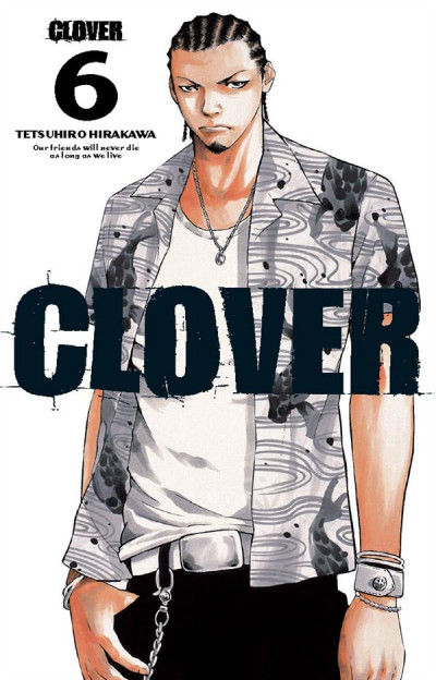 Couverture clover tome 6