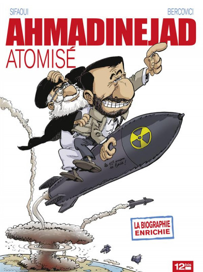 Couverture ahmadinejad atomisé