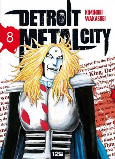 Couverture detroit metal city tome 8