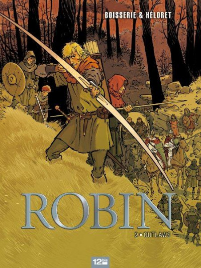 Couverture Robin tome 2 - outlaws