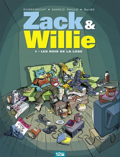 image de zack & willie tome 1 - les rois de la lose