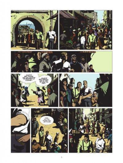 Page 2 l'or et le sang T.2 - inch'Allah
