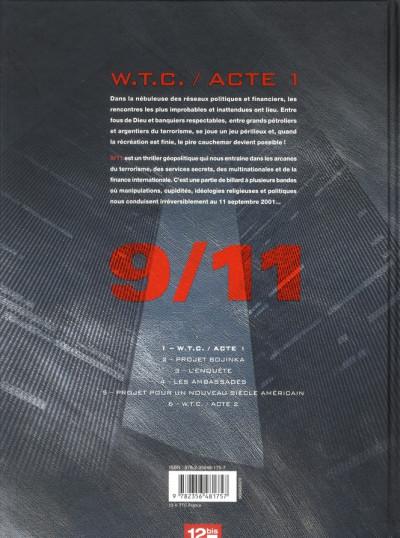 Dos 9/11 tome 1 - W.T.C. acte 1