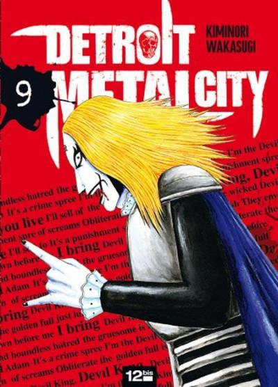 Couverture detroit metal city tome 9
