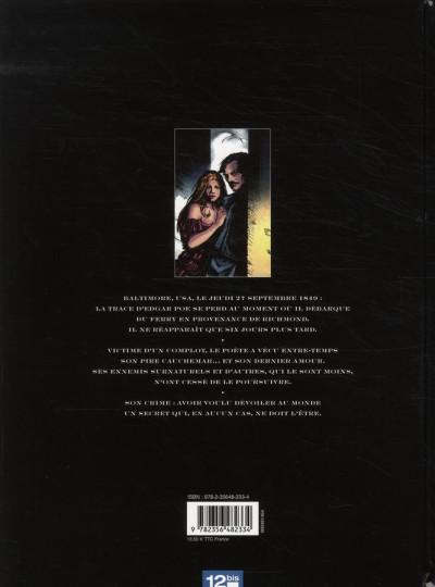 Dos huitième continent tome 1 - Edgar Poe : le dernier cauchemar