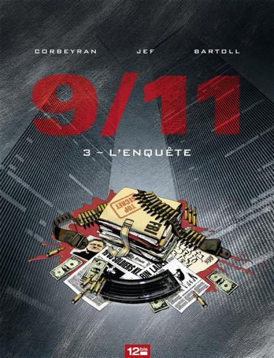 Couverture 9/11 tome 3 - l'enquête