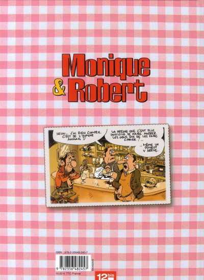 Dos Monique & Robert tome 1 - championnat de la bêtise ordinaire
