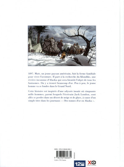 Dos l'or sous la neige tome 1