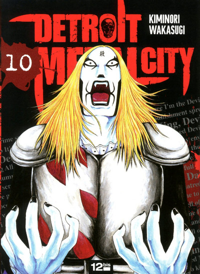 Couverture detroit metal city tome 10