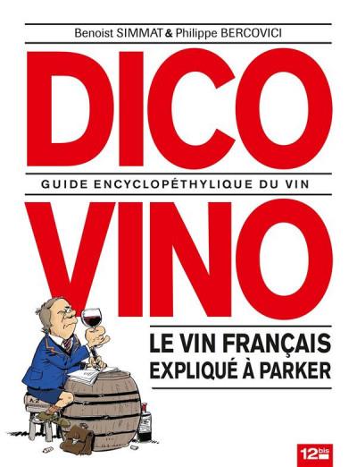 Couverture dico vino ; guide encyclopédique du vin