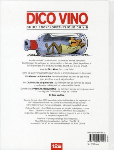 Dos dico vino ; guide encyclopédique du vin