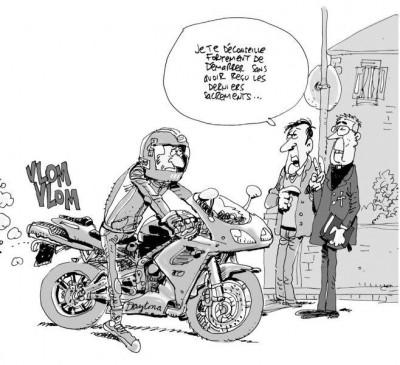 Page 3 Dites ça… pas ça ! ; à un motard