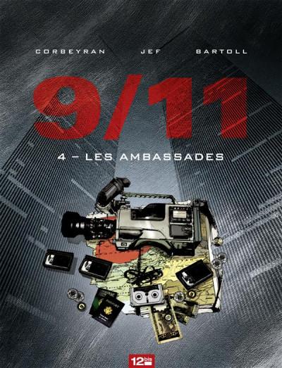Couverture 9/11 tome 4 - les ambassades