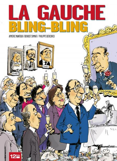 Couverture la gauche bling-bling