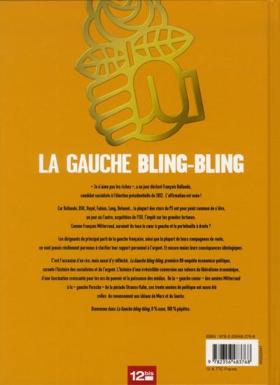 Dos la gauche bling-bling