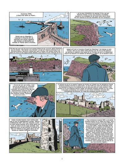 Page 4 les archives secrètes de Sherlock Holmes tome 2 - le club de la mort