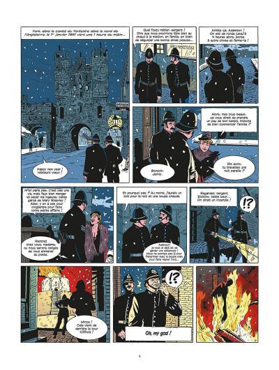 Page 5 les archives secrètes de Sherlock Holmes tome 2 - le club de la mort