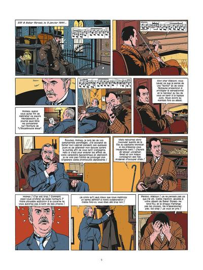 Page 6 les archives secrètes de Sherlock Holmes tome 2 - le club de la mort