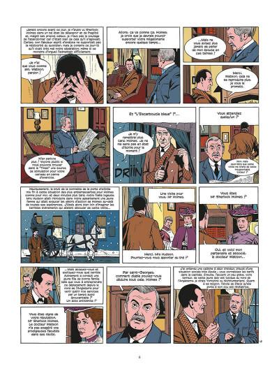 Page 7 les archives secrètes de Sherlock Holmes tome 2 - le club de la mort